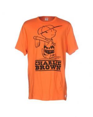Футболка TSPTR. Цвет: оранжевый