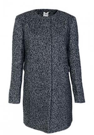Пальто BLUGIRL. Цвет: серый