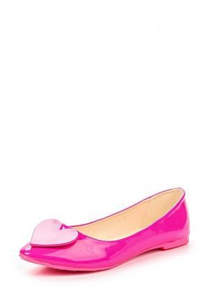 Балетки Amazonga. Цвет: розовый