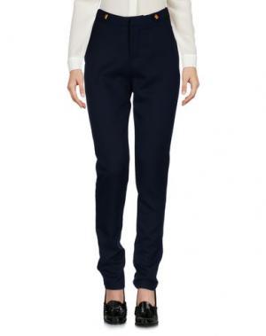 Повседневные брюки PURPLE JAM. Цвет: темно-синий