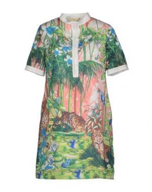 Короткое платье EYEDOLL. Цвет: зеленый