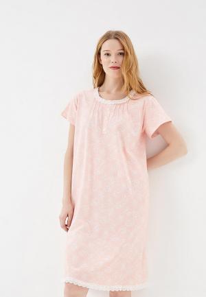 Сорочка ночная Vis-a-Vis. Цвет: коралловый