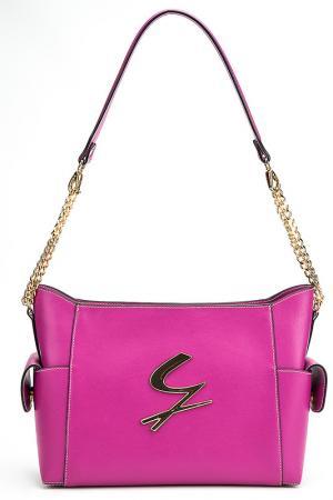 Сумка через плечо Gattinoni. Цвет: розовый