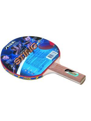 Ракетка для настольного тенниса STING ITTF (1836-37) Stiga. Цвет: красный