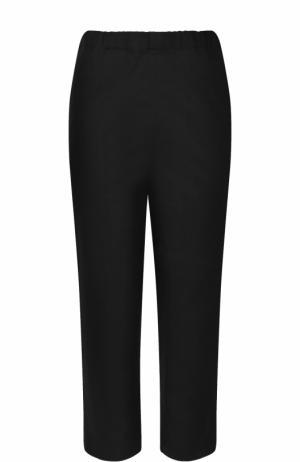 Укороченные зауженные брюки Marni. Цвет: черный