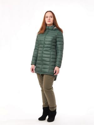 Куртка be...tween. Цвет: зеленый