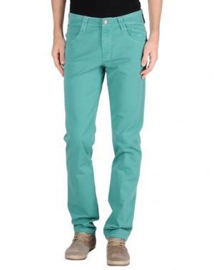 Повседневные брюки CARLO CHIONNA. Цвет: светло-зеленый