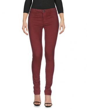 Джинсовые брюки GENETIC DENIM. Цвет: кирпично-красный