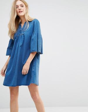 MiH Jeans Платье M.i.h George. Цвет: синий