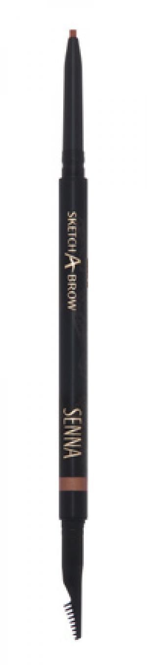 Карандаш для бровей Senna Cosmetics Light Taupe. Цвет: light taupe