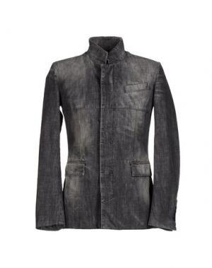 Джинсовая верхняя одежда KARL by LAGERFELD. Цвет: стальной серый