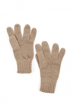 Перчатки Bestia. Цвет: бежевый