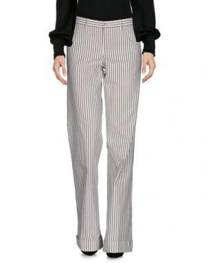 Повседневные брюки PT0W. Цвет: слоновая кость
