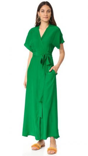Платье Jasper Rhode Resort. Цвет: изумрудный