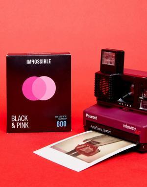 Polaroid Originals Черно-розовая пленка для 600. Цвет: мульти