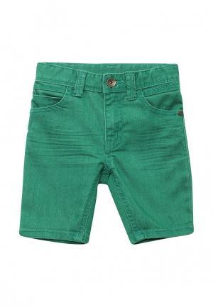 Шорты джинсовые United Colors of Benetton. Цвет: зеленый