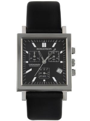Часы UL2118MM Romanson. Цвет: черный, серебристый