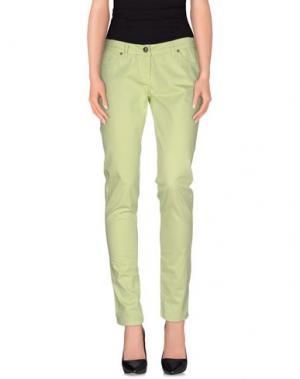Повседневные брюки REFRIGUE. Цвет: кислотно-зеленый
