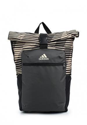 Рюкзак adidas. Цвет: коричневый