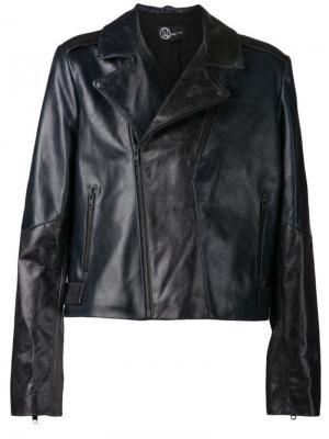 Байкерская куртка Titan Ada + Nik. Цвет: синий