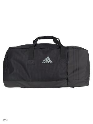 Спортивная сумка взр. 3S PER TB L BLACK/BLACK/VISGRE Adidas. Цвет: черный