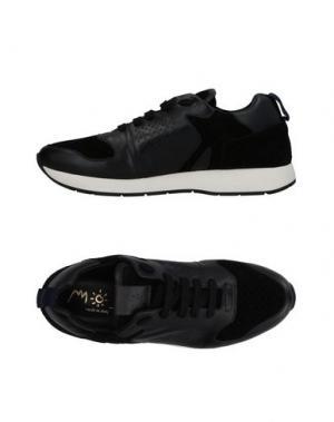 Низкие кеды и кроссовки MOS. Цвет: черный