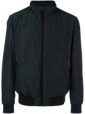 Куртка-бомбер Paul & Shark. Цвет: чёрный