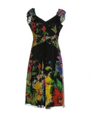 Платье до колена MARTA PALMIERI. Цвет: черный