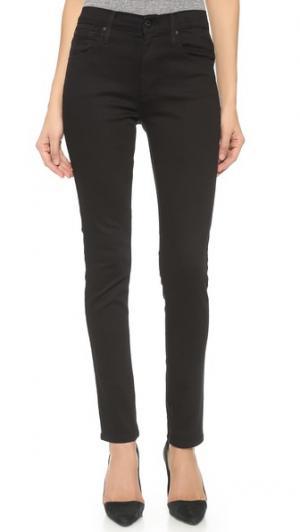 Джинсы-скинни High Class James Jeans. Цвет: ровный черный