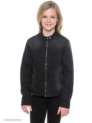 Джинсовая куртка MEXX. Цвет: черный