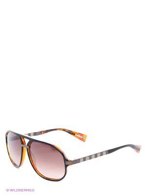 Солнцезащитные очки BLD 1411 204 Baldinini. Цвет: коричневый, светло-оранжевый