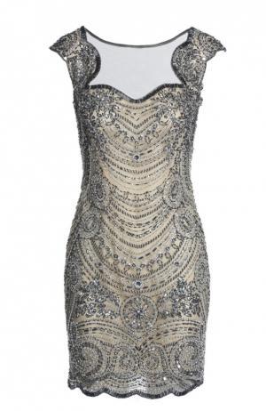 Вечернее платье Basix Black Label. Цвет: серый