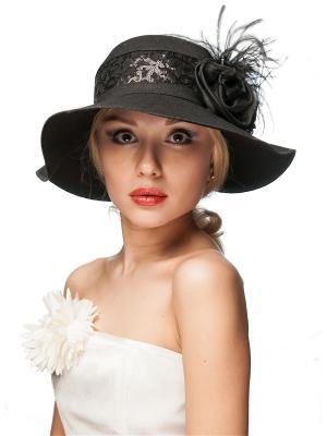 Шляпа Сиринга. Цвет: черный