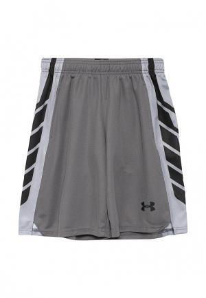 Шорты спортивные Under Armour. Цвет: серый