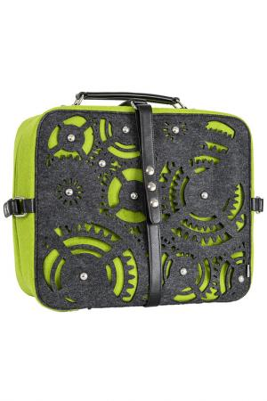 Дорожная сумка Burgmeister. Цвет: green