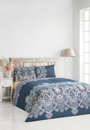 Комплект постельного белья 2-спальный Classic by T. Цвет: синий
