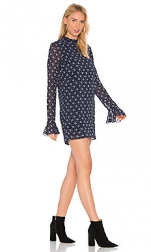 Платье-туника adalyn Line & Dot. Цвет: синий