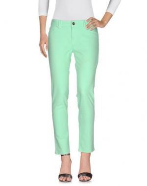 Джинсовые брюки DL1961. Цвет: светло-зеленый