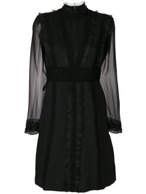 Embroidered dress Giambattista Valli. Цвет: чёрный