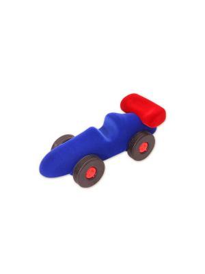 Машина гоночная Rubbabu. Цвет: синий