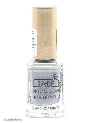 Лак для ногтей Crystal glow nail enamel, тон 385 GA-DE. Цвет: серый