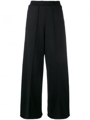 Широкие длинные брюки Golden Goose Deluxe Brand. Цвет: чёрный