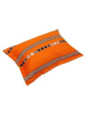 Комплект из 2х наволочек 50*70 PCK-44-10945A-1A Dream time. Цвет: оранжевый