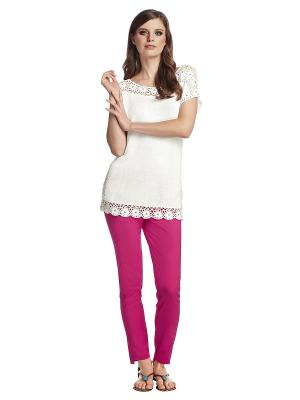 Пуловер APART. Цвет: молочный