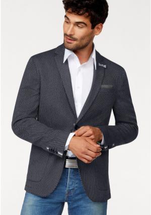 Пиджак BRUNO BANANI. Цвет: темно-серый с рисунком