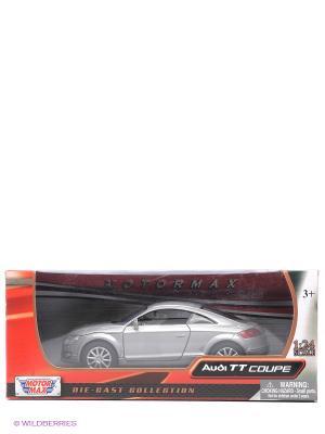 Машинка коллекционная 2007 Audi TT Coupe Motormax. Цвет: серебристый