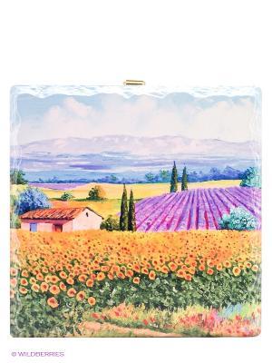 Керамическая подставка Gift'n'Home. Цвет: оранжевый, желтый, лазурный, темно-зеленый, сиреневый