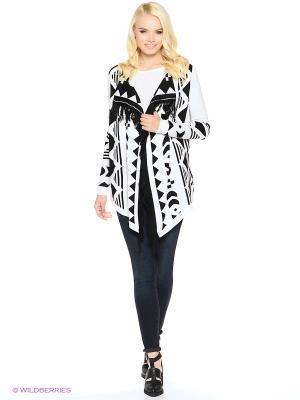 Кардиган Vero moda. Цвет: черный, белый