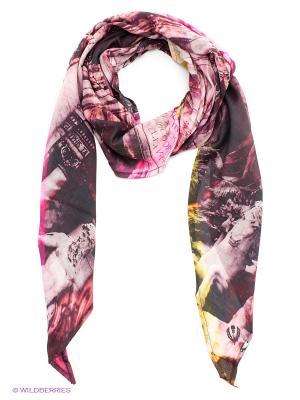 Платок FRAAS. Цвет: сливовый, бледно-розовый