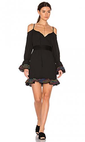 Платье sydney VAVA by Joy Han. Цвет: черный